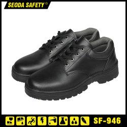 De Schoenen van de Veiligheid van het Leer van buffels & de Chemische Bestand Schoenen van de Veiligheid voor de Mens