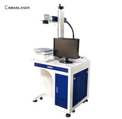 20W Tampo da máquina de marcação a laser CNC para placas de plástico do teclado
