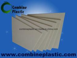 Placa de plástico branco marfim PVC porta de banheiro