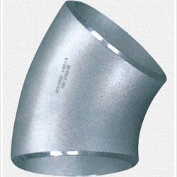 Acero inoxidable radio corto Codos de 45 de junta del tubo de