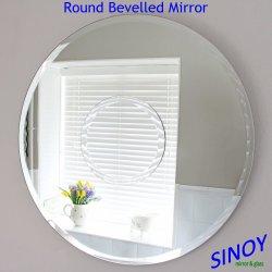Vetro smussato decorativo dello specchio del bordo della Cina per le applicazioni della mobilia o della stanza da bagno, dallo specchio d'argento libero impermeabile