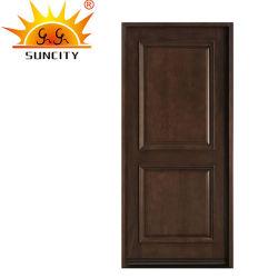Горячая продажа Enterance окраска древесины твердых деревянные двери