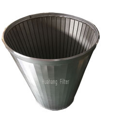 Tubo de liquidação SS elemento filtrante do filtro de água