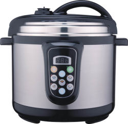 5L ss Electric Pressure Cooker con ETL Approval