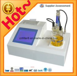 ASTM D6304 كارل فيشر مقياس جهد لتحليل الماء في الزيت المحتوى في UG / جزء في المليون / نسبة مئوية / ملجم/لتر