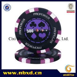 14G 3-ton de l'argile pro autocollant Poker Chip (sy-E14-1)