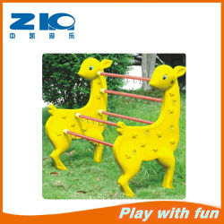 Schulmöbel Kinder Kunststoff Giraffe Handtuchhalter/Toy Display Regal