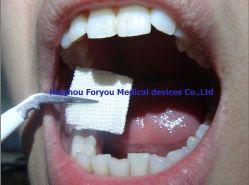 Curativo cirúrgico camada absorvente parar hemorragias gaze penso de gaze dentária hemostático