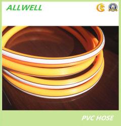 O PVC plástico reforçado com fibra de Alta Pressão Hidráulica de borracha do tubo de pulverização aérea trançada