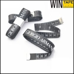 60inch Logo Design Mini Metric PVC Fiberglass Black Sewing Tape