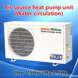 家のアプリケーションのための空気ソースヒートポンプの給湯装置の単位