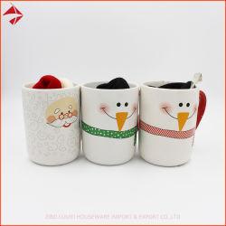 Taza de cerámica porcelana taza con tapa sombrero Kint Tapas y logotipo personalizado para el té de la Oficina de Cafe Drinkwar