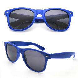 Ce FDA logo impreso personalizado estándar de plástico de regalo de promoción Retro gafas de sol Gafas de sol promocionales baratos Malibu diseñador