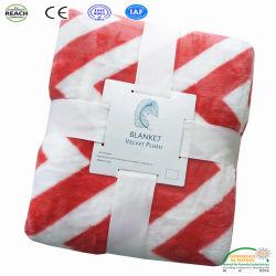 Werpt de Algemene Polyester van de Vacht van het Koraal van het flanel Blad van de Dekking van de Bank van de Fabriek van de Baby het Algemene op Bed
