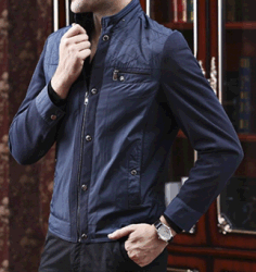 Venda por grosso Joint-Fabric OEM jaqueta de moda casual para homens