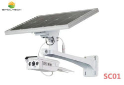 Sc01 série 4G/caméra IP sans fil WiFi Support Système de surveillance de l'énergie solaire (SC0101/SC0102)