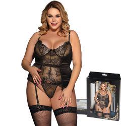 Hot Sale plus gros de la taille d'usine Mode féminine Lady Lingerie Sexy