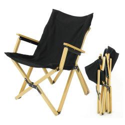 고급 600d 직물 캠핑 접이식 포트빌 레저 비치에서 만든 다양한 야영 팔걸이 의자 위로