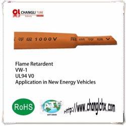 El espesor de pared RoHS retardante de llama de alto grado de 0,7 mm tubo termoretráctil