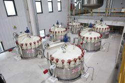 Fabbriche raffinate di chiave in mano dell'olio di soia