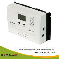 電池の料金のためのKema 15-50AMP 12V/24VDC MPPT24zシリーズ太陽エネルギーのコントローラ