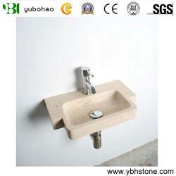 Солнечный желтый/Шаньси черный/белого каррарского небольших ванных комнатах есть ванна в ванной комнате, мини-поглотителей