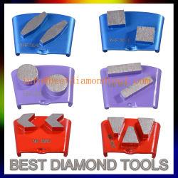 HTC Diamond polissage de meulage des outils concrets pour le béton Terrazo restauration et de polissage de surface