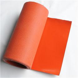 Rouge/Noir/Blanc/gris/argent caoutchouc tissu en fibre de verre