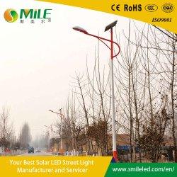 Un excelente rendimiento en el exterior de la luz solar calle COB 50W fuente de iluminación