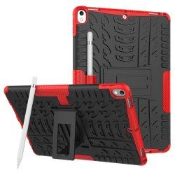 Силиконовый Роберт Shock-Resistant крышку модели шин доспехи случай с держателем для Samsung Tab S4, S3, S2 2018 планшетного ПК iPad mini PRO