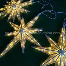 Piscina à prova de iluminação LED Motif Decoração de Natal Estrela de luzes