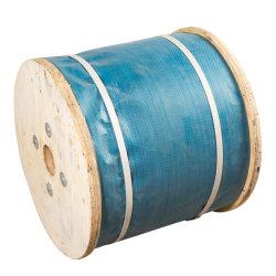 Galvanizado a 6*12*6 7 6*19*6*37 cuerdas de alambre de acero