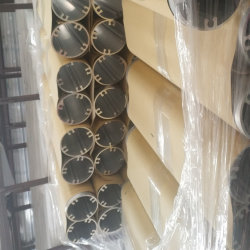 Bastidor de la Tira de luz LED de Tubo de perfil de extrusión de aluminio