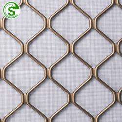 het Traliewerk van de Diamant van het Aluminium van de Dikte van 47mm dat voor Deur en Venster wordt gebruikt