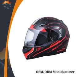 DOT casques de motocyclette pleine face à la mode des casques de sécurité pour la vente