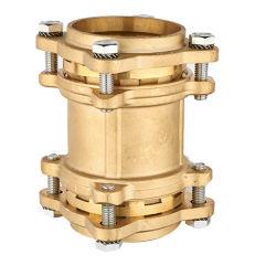 As conexões de compressão de latão ou Dzr Acoplamento Direto para o tubo de PE