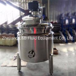 Acero Inoxidable 500L líquido vacío mezclador para planta química