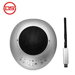 RF2.4G de draadloze Dubbele microfoon In alle richtingen van de Peulen van het Praatje voor conferentiesysteem