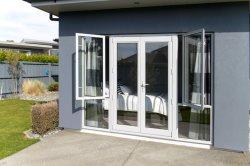 La Chine usine française de pivotement de l'aluminium Befold auvent coulissante portes fenêtres à battant pour la maison de l'innovation