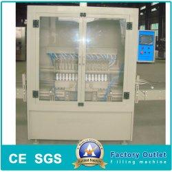 自動反Corroisveびんの洗面所の洗剤の斜めの首のびんの液体の満ちるパッキング機械