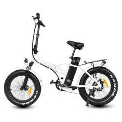 Super bicicleta eléctrica de la grasa de 20 pulgadas bicicleta eléctrica 48V 500W de aleación de aluminio del motor de velocidad de fotograma 7