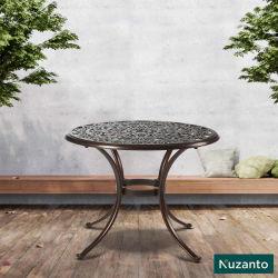 Tisch für Patio-AluminiumBistro-Tisch-Balkon-Tisch und Stühle