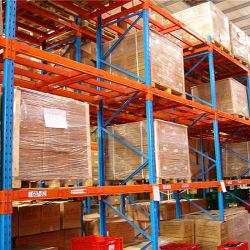 Armazém ajustável de armazenamento de aço de palete