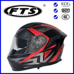 Proteção de segurança para acessórios para motociclos capacete integral ABS meia-aberto Viseiras duplas F129PRO com modular Jet com DOT e ECE Certificados Pinlock visor