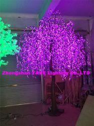 Yaye 2021 Hot Sell Prezzo di fabbrica esterno impermeabile LED RGB Willow Tree con 2 anni di garanzia