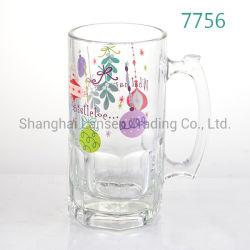 La impresión personalizada hermosas de Navidad Tankard Vaso de cerveza