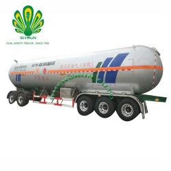 Gaz de Pétrole Liquéfié tanker GPL de la remorque de transport semi-remorque