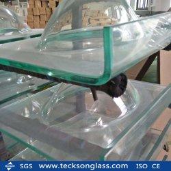 15 /19mm Vidrio Flotado transparente para la construcción Windows Pecera