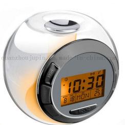 Логотипа OEM-творческих цифровой регистрации будильник с термометром