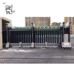 Fabricant de porte en acier inoxydable électrique de porte coulissante escamotable Rgm-01